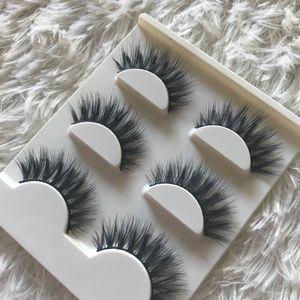 Other - Mink Eyelashes 3 Pairs